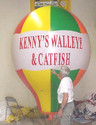 8-FOOT HOT AIR  BALLOON SHAPE - ONE COLOR ARTWORK