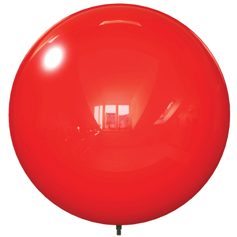 "18"" RED BALLOON BOBBER DURABALLOON REPLACEMENT"