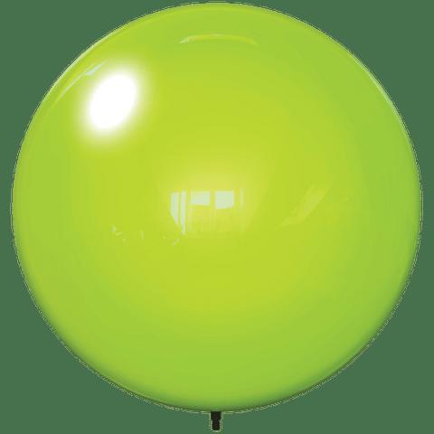 """18"""" LIME GREEN BALLOON BOBBER DURABALLOON REPLACEMENT"""