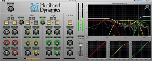 Metric Halo Multiband Dynamics - www.AtlasProAudio.com