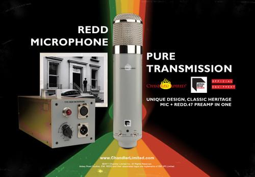 Chandler EMI REDD Microphone - www.AtlasProAudio.com