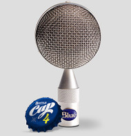 Blue Bottle Cap B4 - Close - www.AtlasProAudio.com