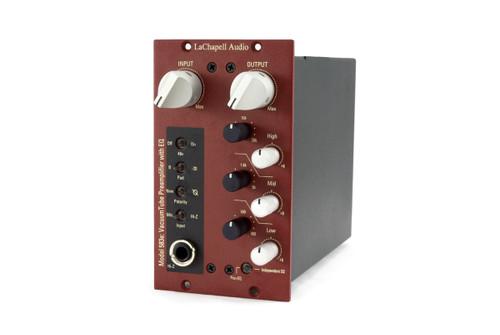 LaChapell Audio 583e Mic Pre/EQ - side