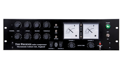 Phoenix SB standard edition - stereo valve compressor - front
