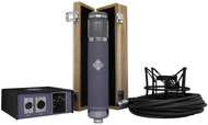 Telefunken R-F-T AR-51 - with wood box, shockmount, psu, and cable