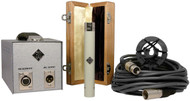 Telefunken ELA M 260 - wood box, psu, cable, and mount