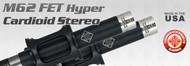 M62FET Hyper-Cardioid Stereo Set