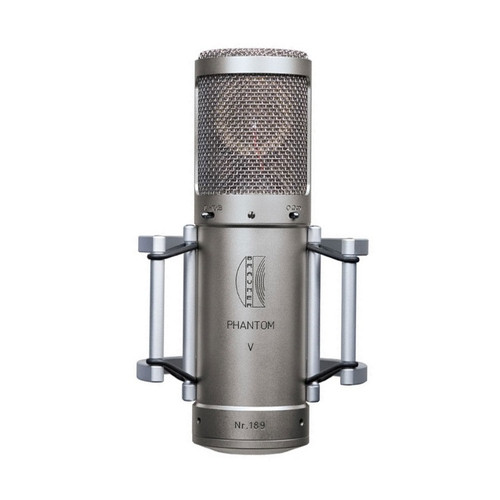 Brauner Phantom V Microphone - front - Atlas Pro Audio