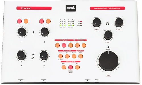 SPL Crimson USB Interface - White - AtlasProAudio.com