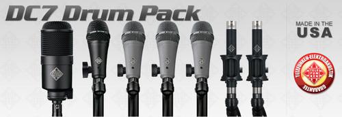 Telefunken Elektroakustik DC7 Drum Mic Set - AtlasProAudio.com