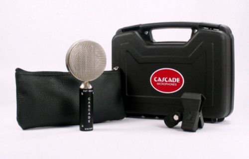 Cascade Fat Head Microphone - Black/Silver - AtlasProAudio.com