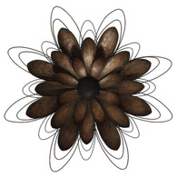 Abstract Metal Flower