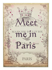 Meet me in Paris.