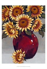 Vase of Sunflowers II