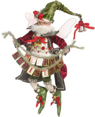 "Mark Roberts Christmas Greetings Fairy Med 15"" 2016"