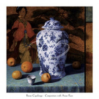 Bruno Capolongo  	 Composition with Asian Pears (Contemporary Still-Life #25) 	 CBP300  13