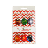 Very Charming Wine Glass Charms