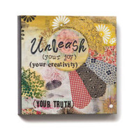 Unleash Your Joy and Creativity Wall Art