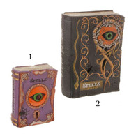 "LIGHTED EYEBALL ""SPELL"" BOOK"