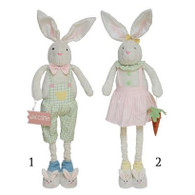 Bunny Couple w/Bunny Slippers