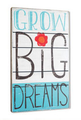 Grow Big Dreams Wall Art
