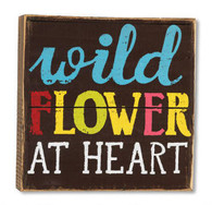 Wild Flower at Heart Wall Art