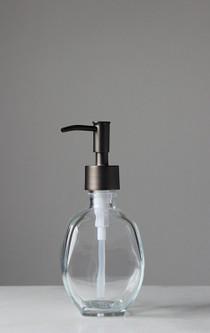 Geometric Recycled Glass Soap Dispenser ...