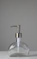 Half Moon Glass Soap Dispenser
