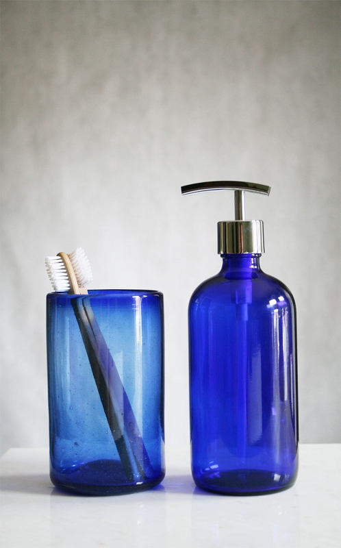 are glass soap dispensers better than plastic