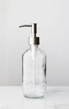 Market Glass Soap Dispenser