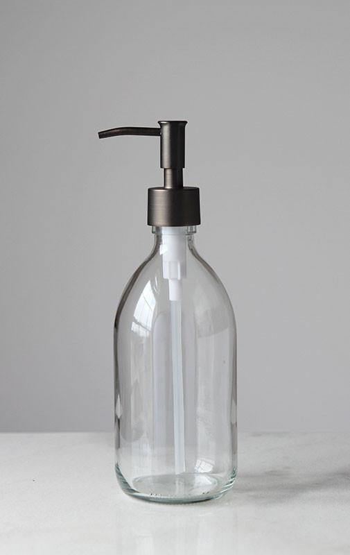 savon glass soap dispenser more options