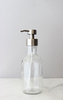 Farm House Foaming Glass Soap Dispenser - Large