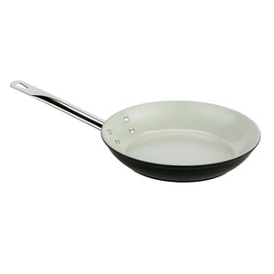 8 Aluminum Ceramic Coated Frying Pan, L 8 x W 8 x H 1.375