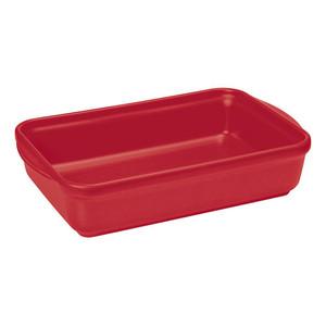 Ceramic Rect Baker Red