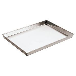 """Aluminzd Steel Baking Sheet, L 11 7/8"""" X W 9"""" X H 1 1/8"""""""