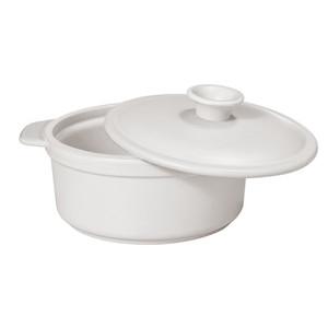 Ceramic Cocotte Stone White