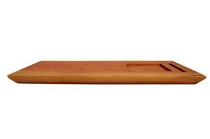 Cherry Wood Board, Square Wht