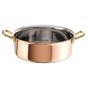 Rondeau, Copper S/S, 4 1/2QT