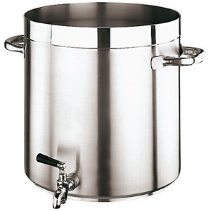 """Gd Gourmet Faucet Stock Pot, DIA 14 1/8""""XH 14 1/8"""" 38QTS"""