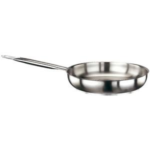 "Frying Pan, S/S R, DIA 12 1/2"" X H 2 3/8"""