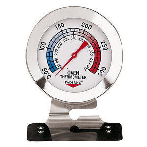 S/S Oven Thermometer, L 2.75 x W 2.75 x H 3