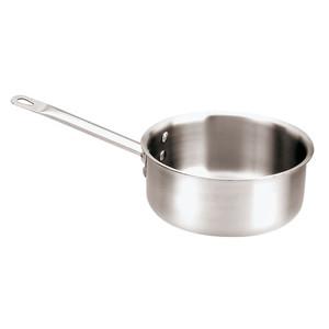 "Sauce Pan, Triply, DIA 7 1/8""XH 3 1/8"",2 1/8 Qts"