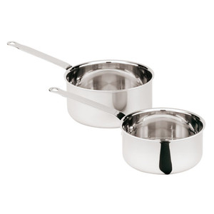 "Sauce Pan, S/S Triply, DIA 5 1/2"" X H 2 3/4"", 1 QT"