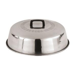 13 3/8 Aluminum Wok Lid, L 13.375 x W 13.375 x H 3.5
