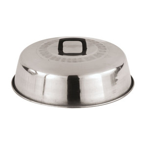 12 1/2 Aluminum Wok Lid, L 12.5 x W 12.5 x H 3.25