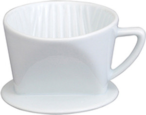 HIC Porcelain Filter Cone, 1 Cup