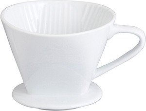 HIC Porcelain Fiter Cone, 4 Cup