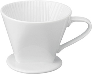 HIC Porcelain Filter Cone, 2 Cup