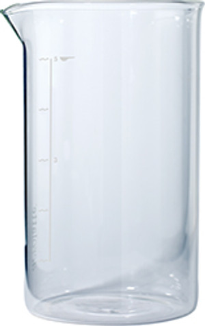 Aerolatte French Press Glass Beaker, 5 Cup