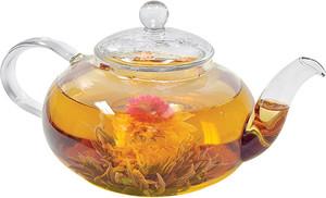Primula tea Borosilicate Glass Daisy Teapot